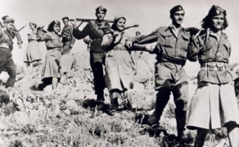 Αποτέλεσμα εικόνας για Η Εθνική Αντίσταση εναντίον των στρατευμάτων κατοχής 1941-1944,